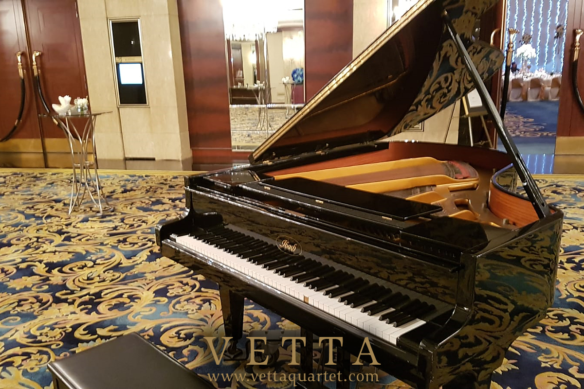 Solo Piano for Jessie's Wedding Banquet at Shangri-La Hotel