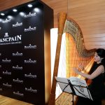 Solo Harp for Blancpain Corporate Event at Swiss Ambassador's Residence