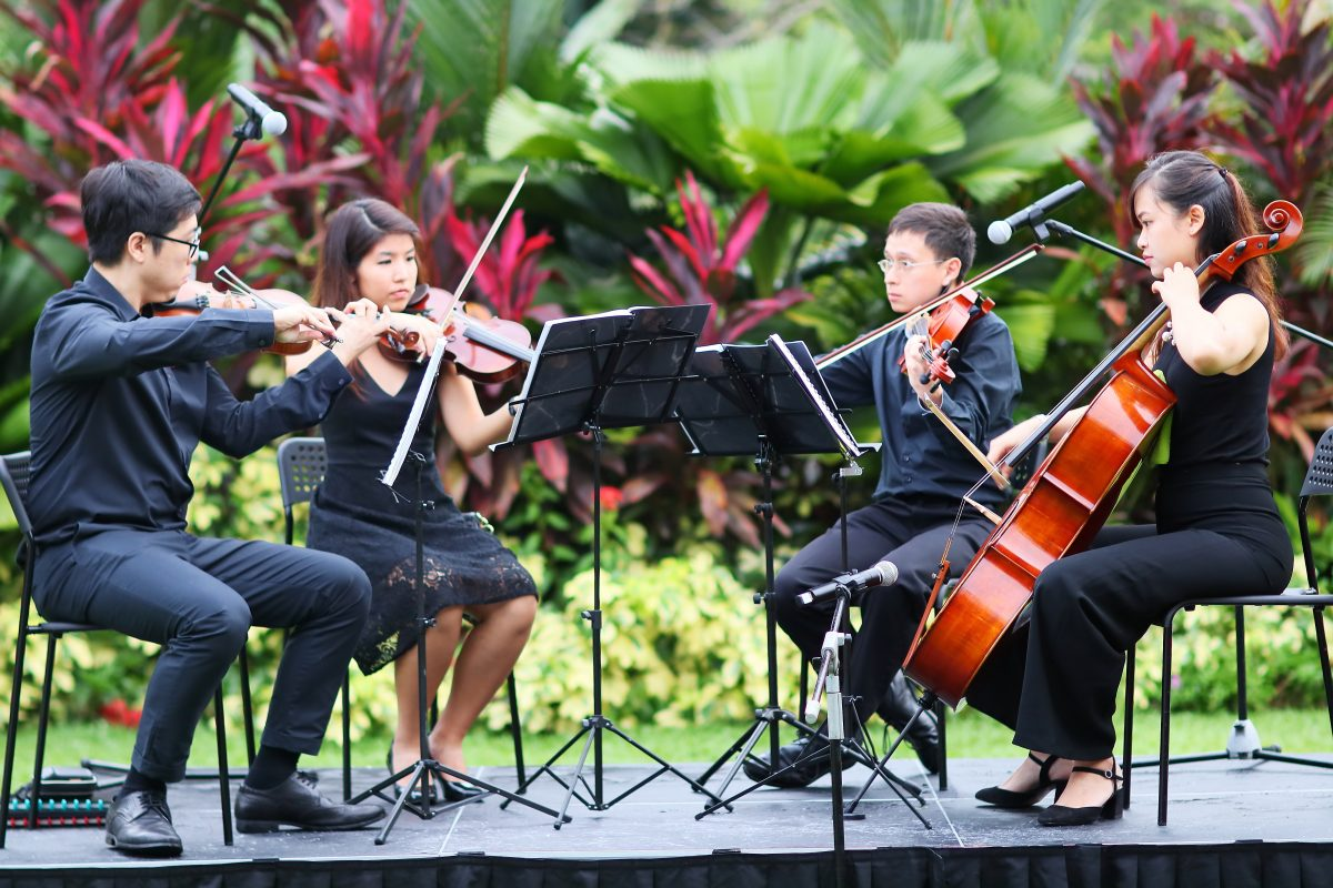 String Quartet for Blancpain Event at Swiss Ambassador's Residence