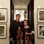 Violin Duo for Birthday Celebration at Ritz Carlton