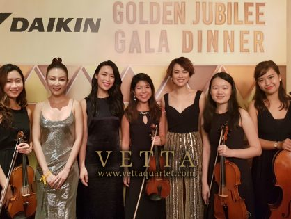 ESTA Quartet for Daikin Event at Shangri-La Island Ballroom