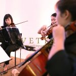 String Quartet for Corporate Event at Sinfonia Ristorante