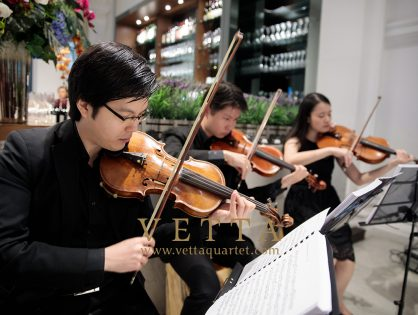Wedding at Sinfonia, Victoria Concert Hall