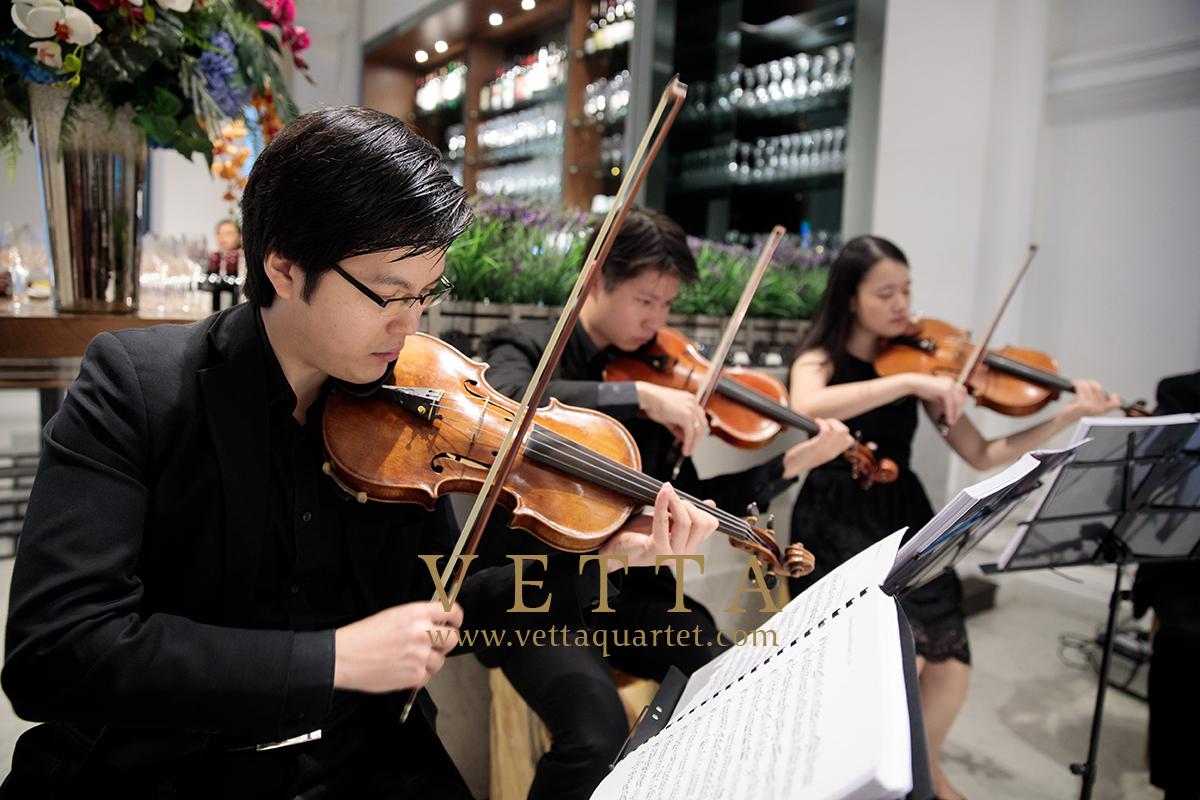 Wedding at Sinfonia, Victoria Concert Hall