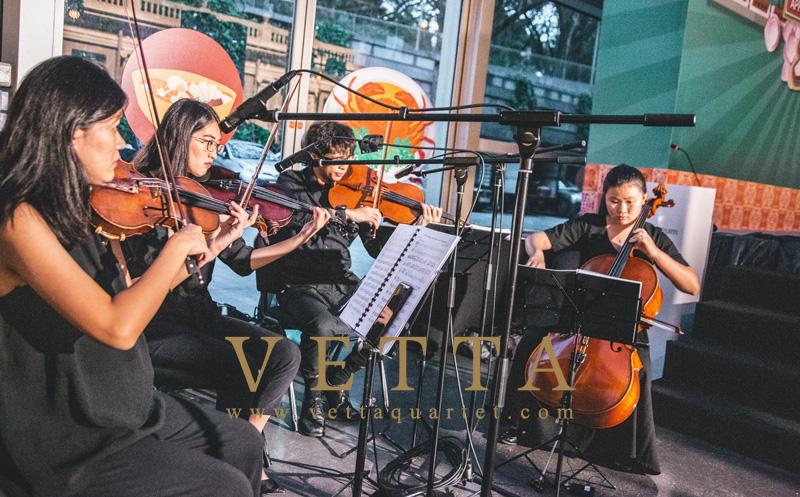 String Quartet for Appreciation Dinner