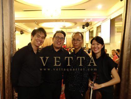 String Quartet for National Day Dinner at Ban Heng, Habourfont Center