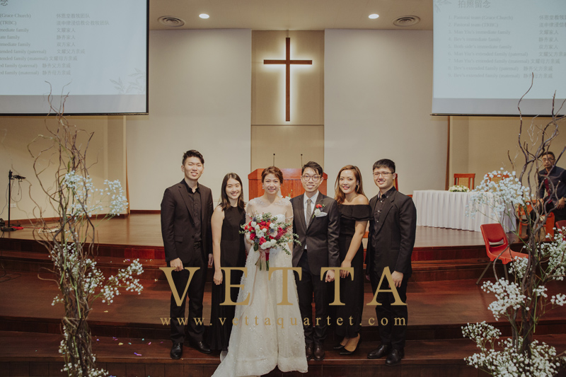 Beverly and Man Yiu's Wedding at Thomson Road Baptist Church
