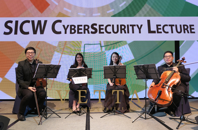 String Quartet for SICW Event at JW Marriott Singapore