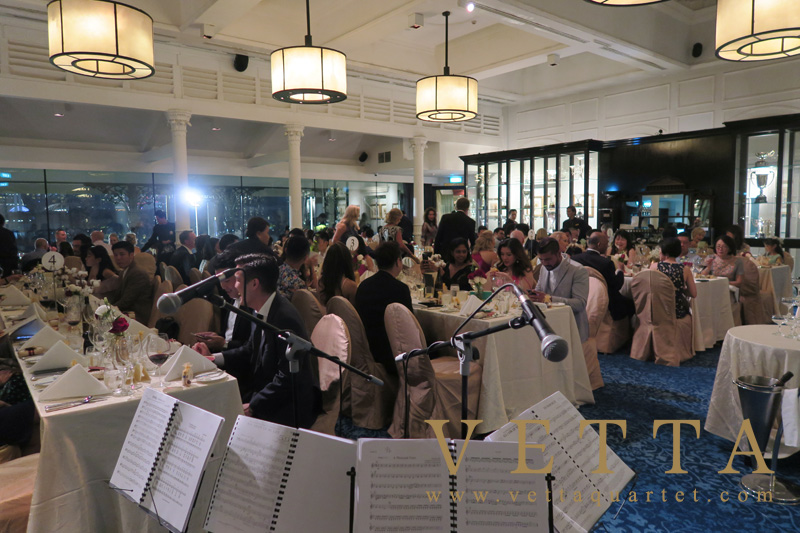 String Quartet for Wedding at Singapore Cricket Club