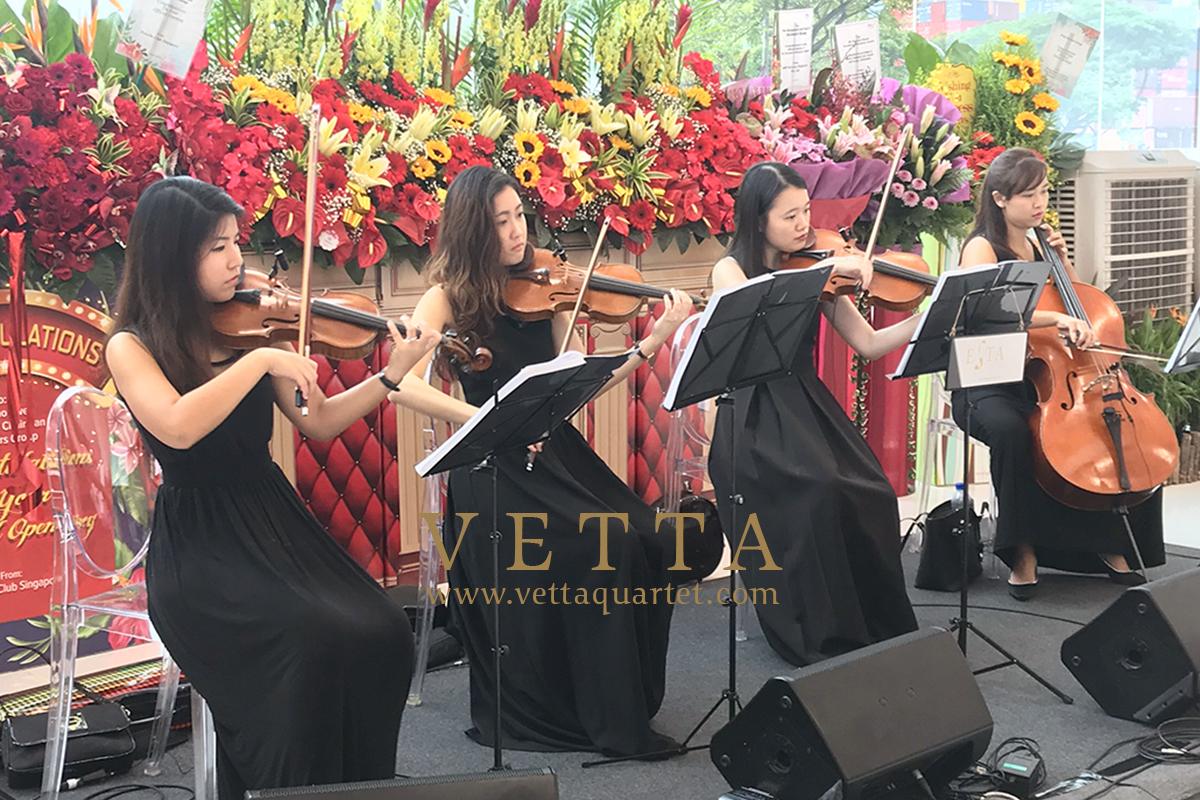 ESTA Quartet for Official Opening of Eurokars Aftersales Centre