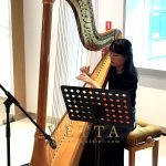 Solo Harp for Corporate Event at Lilly Centre for Clinical Pharmacology Pte Ltd