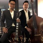 Jazz Guitar and Double Bass Duo for Singapore FinTech Festival Speakers Dinner at Straits Bar Tower Club