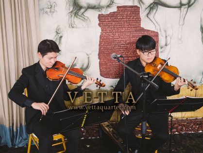 Violin Duo for Reyna's Wedding at Forlino Restaurant