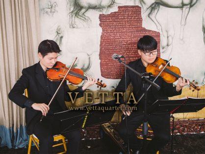 Violin Duo for Reyna's Wedding at Forlino Restaurant