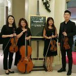 String Quartet for RICS 150th Anniversary Dinner at Goodwood Park Hotel