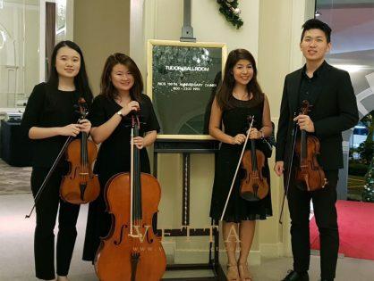 String Quartet for RICS 150th Anniversary Dinner at Goodwood Park Hotel