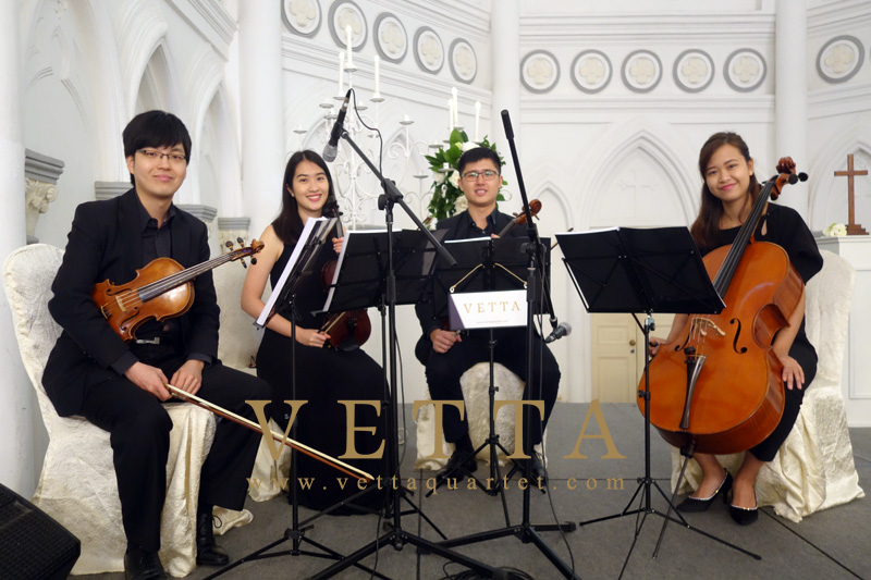 String Quartet for Solemnisation at CHIJMES