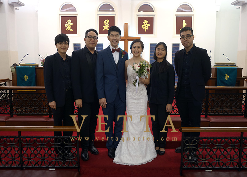 Fernando & Renci's Wedding at Telok Ayer Chinese Methodist Church