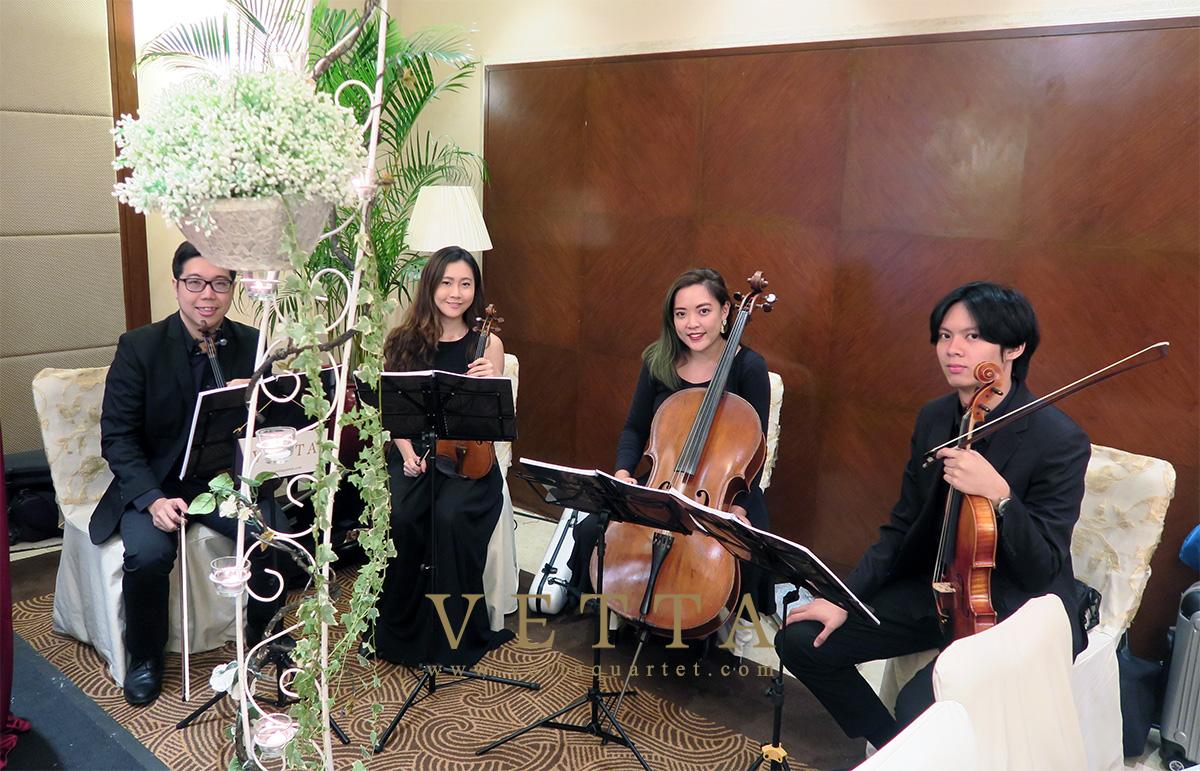 Jasmine's Wedding at Grand Copthorne Waterfront Hotel, Paradiso Room