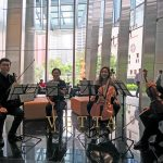 String Quartet for Christmas Performance at Frasers Tower