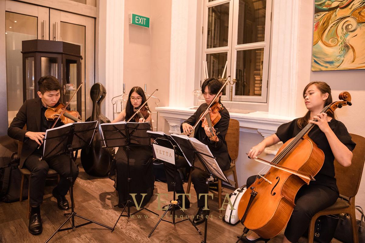 Vetta Quartet for Corporate Event