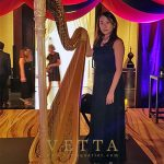 Solo Harp for American Express Centurion Gala Event at Mandarin Oriental