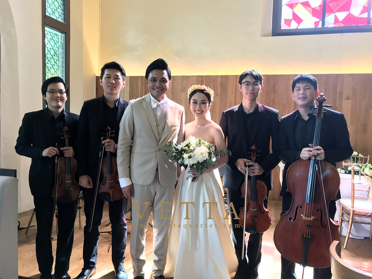 String Quartet for Clifford and Hailey's Wedding at The White Rabbit