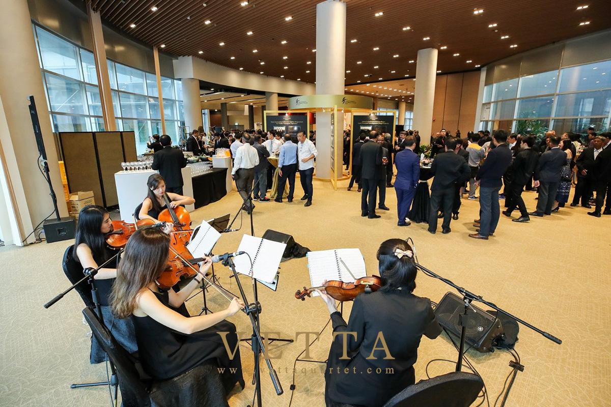 ESTA for Corporate Event at Singapore Expo, Max Atria