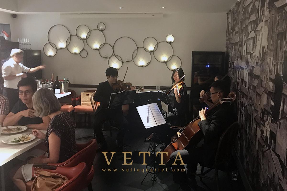 String Quartet for 60th Birthday Celebration