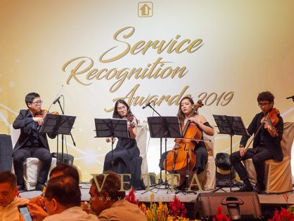 Service Recognition Award 2019 at ParkRoyal on Beach Road