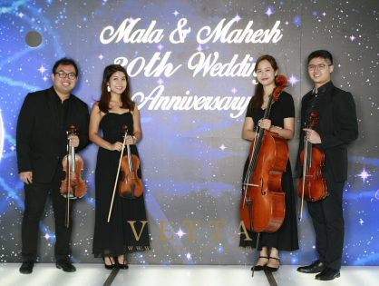 30th Wedding Anniversary of Mala & Mahesh at Capella, Grand Ballroom