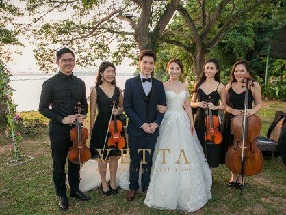 Estella's Wedding at Shangri-La Sentosa