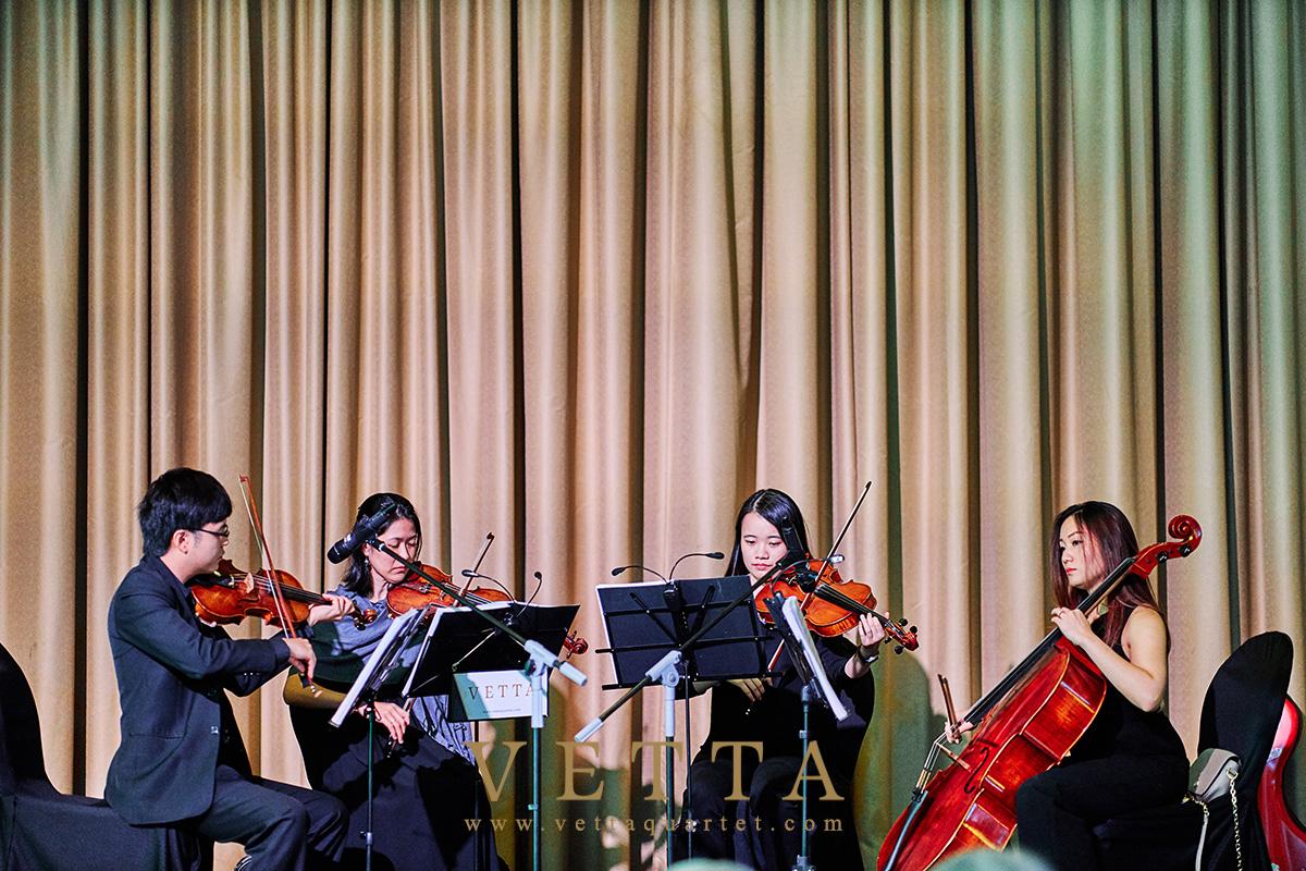 String Quartet for Wedding at Ritz Carlton