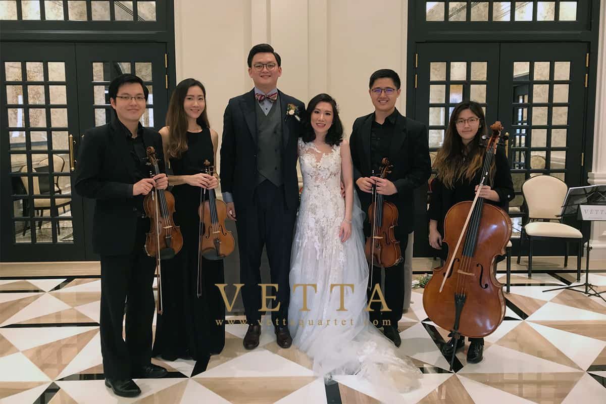 Zhan Ming's Wedding at Raffles Hotel