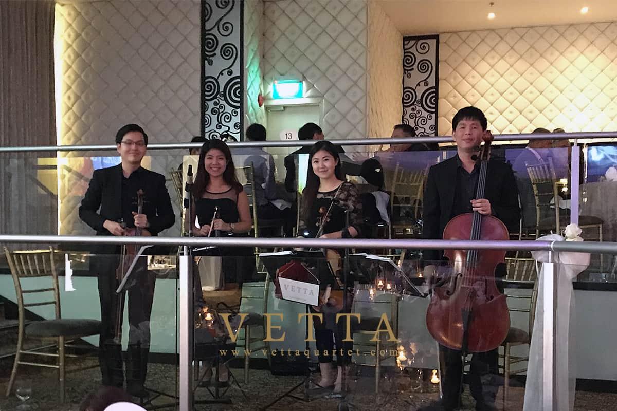 Riho & Jordan's Wedding at Grand Mandarin Ballroom, Mandarin Orchard Singapore