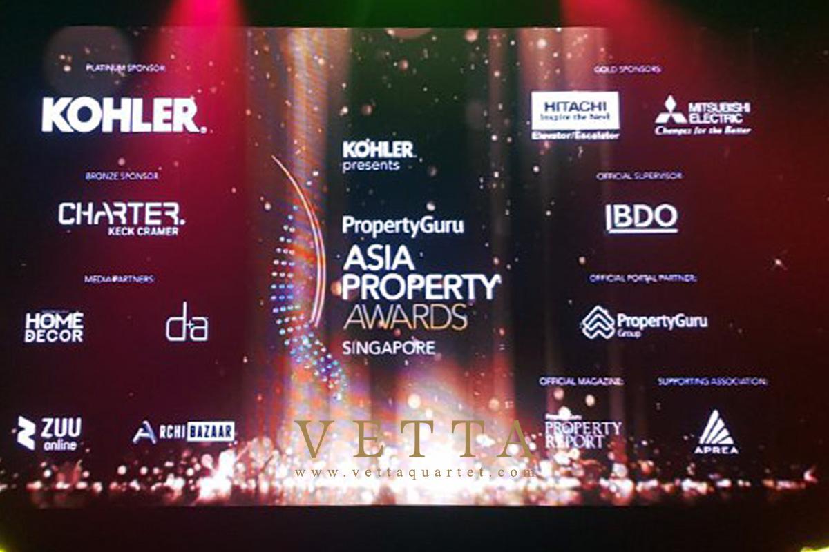 Asia Property Awards Singapore at St Regis