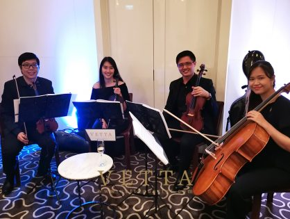 Private Christmas Party at Summer Pavilion, Ritz Carlton