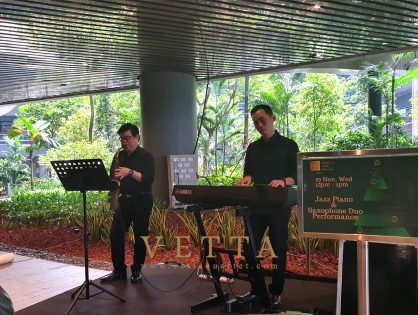 2019 Christmas Carolling Performance at Marina One