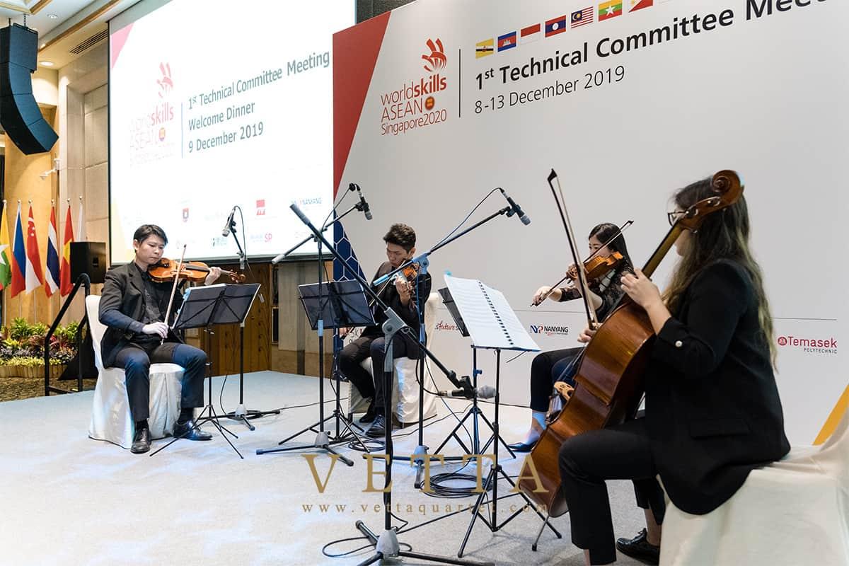 Worldskills ASEAN Singapore 2020 at Grand Copthorne Waterfront Grand Ballroom Level 4