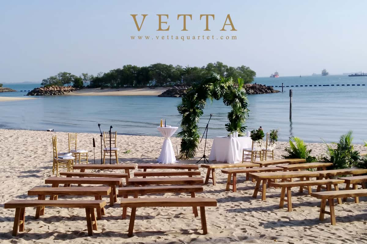 Joe & Faye's Wedding at Tanjong Beach Club