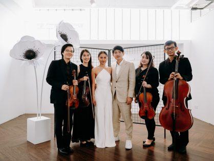 Rachel & Aaron's Wedding at Miaja Gallery